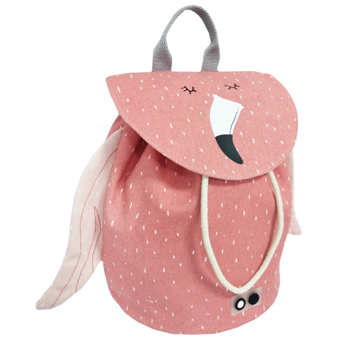 66392a986d6 Mini Backpack-Mrs. Flamingo – Petit Boo